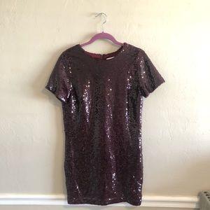 Kittenish Mila Sequin Mini Dress Size Medium